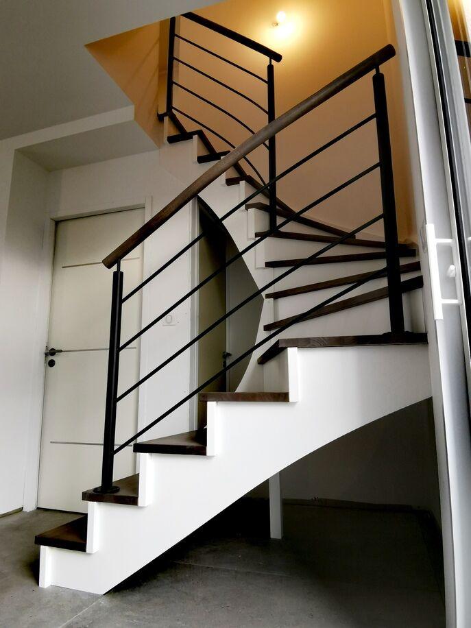 Escalier contemporain Challans - ABEG