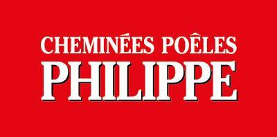 Logo cheminée poêle Philippe - HCL