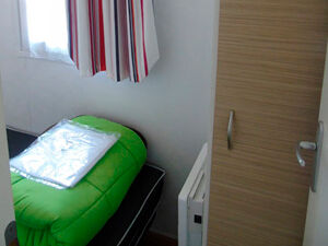 Mobil-home couchage simple - Camping Le Merval