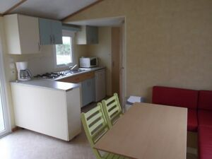 Mobil-home Mercure 2 chambres - Camping Le Merval
