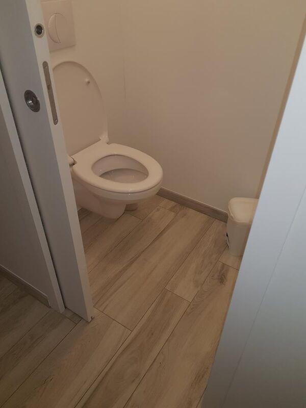pose de wc suspendu crossac